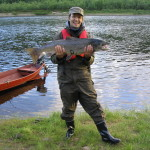 Onnellinen kalamies